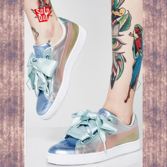 best website 5fd0c 52f6f 🆕️🌈 Puma BASKET heart Bauble Sneakers Kicks 7.5